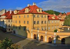 emblemEuropa prague för 2009 kyrklig tjeckisk dörrar republik Royaltyfria Foton