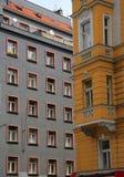 emblemEuropa prague för 2009 kyrklig tjeckisk dörrar republik Arkivbilder