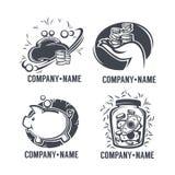 Emblemi di attività bancarie Fotografia Stock Libera da Diritti