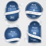 Emblemi di Natale Fotografia Stock Libera da Diritti