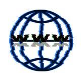 Emblemnätverk vektor Arkivfoto