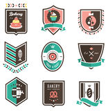 emblems еда Стоковое фото RF