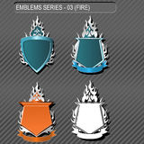 emblems Royaltyfria Bilder