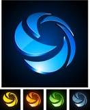 emblems 3d roterar