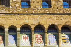 Emblems of the Florentine Republic Stock Image