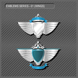 EMBLEMS SERIES  Royalty Free Stock Photography