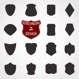 Emblemuppsättning Royaltyfri Foto