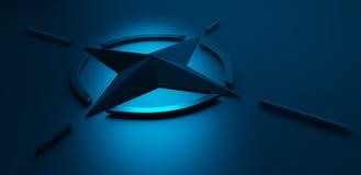 Emblm de la OTAN Fotografía de archivo libre de regalías