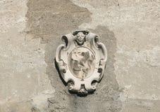 Emblème antique Photographie stock