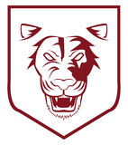 Emblème de lion Photo stock