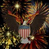 Emblème des USA Images stock