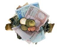 Emboîtement d'argent Image stock
