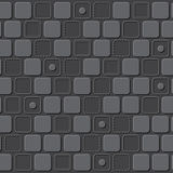 Emboss rectangle pattern background. Design Stock Images