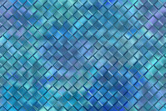 Emboss square blocks abstract background Stock Image