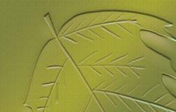 Embossed Autumn theme Artwork. Leaf embossed on background. Very creative Artwork sheet. Autumn theme Artwork. Very creative Artwork sheet. Good for Greetings stock image