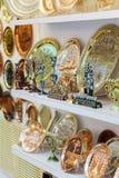 Embossed Bronze Souvenirs Stock Photos
