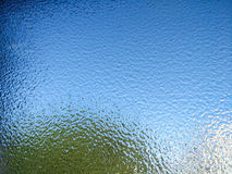 Embossed glass Royalty Free Stock Photography