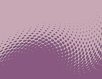 Embossed halftone background Stock Images