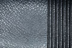 Embossed leather macro Stock Photography