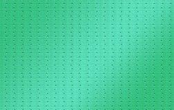 Embossed triangle design. Green textured sheet artwork. Textured illustration design for: background, artwork, designs & textures. stock photography