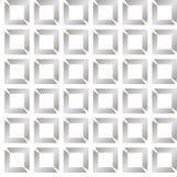 Embossment geometrico diagonale grigio sottile senza cuciture i delle mattonelle di arte op Immagine Stock