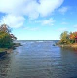 Embouchure de fer - Michigan Photos libres de droits