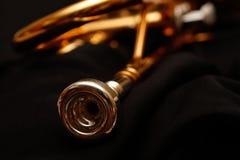 Embouchure de trompette photos libres de droits