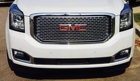 Embout avant de GMC SUV image libre de droits