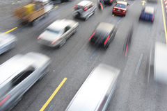Embouteillage Image libre de droits
