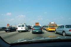 Embouteillage 2 photographie stock libre de droits