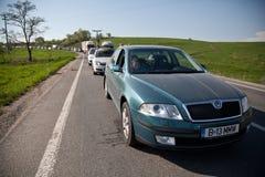 Embouteillage Photos libres de droits