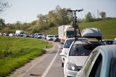 Embouteillage Photo stock