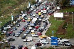 Embouteillage Photo stock