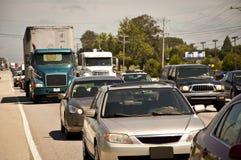 Embouteillage d'heure de pointe Photo libre de droits