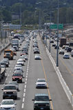 Embouteillage dans Coquitlam Images stock