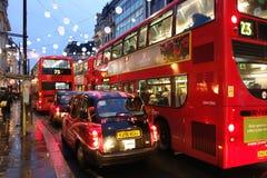 Embouteillage de Londres Images libres de droits