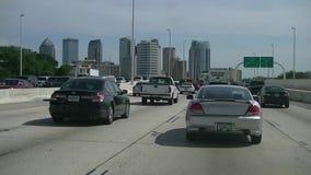 Embouteillage de Tampa banque de vidéos