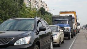 Embouteillage sur la route à clips vidéos