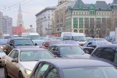 embouteillages Image libre de droits