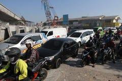 embouteillages Images libres de droits