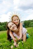 embrace счастливый Стоковое Фото