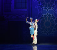 "Embrace- ballet ""One Thousand and One Nights"" Stock Image"