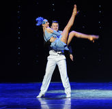 Embrace the beauty return-Retro dance-the Austria's world Dance Stock Images