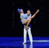Embrace the beauty return-Retro dance-the Austria's world Dance Royalty Free Stock Image