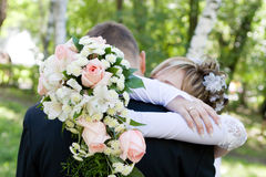 Embrace of love Royalty Free Stock Image