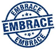 Embrace stamp. Embrace grunge vintage stamp isolated on white background. embrace. sign vector illustration