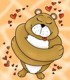 embraces медведя Стоковое Фото