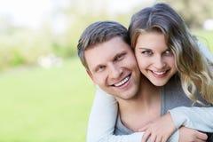 Embraces couple Stock Image