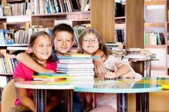 Embracing children Stock Photos