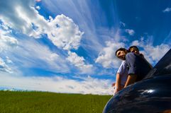 Embracing Couple Royalty Free Stock Images